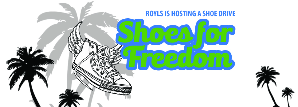 Shoe Drive to Raise Awareness of Human Trafficking